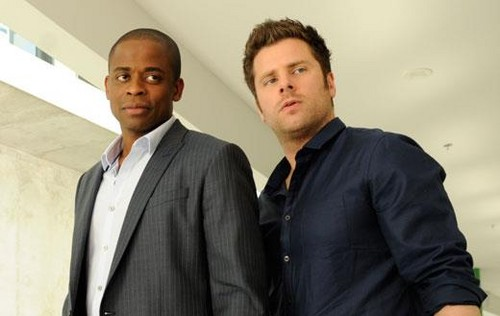 Dulé Hill and James Roday