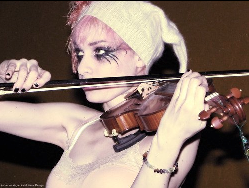 Emilie Autumn wallpaper containing a violist and a cello called EA