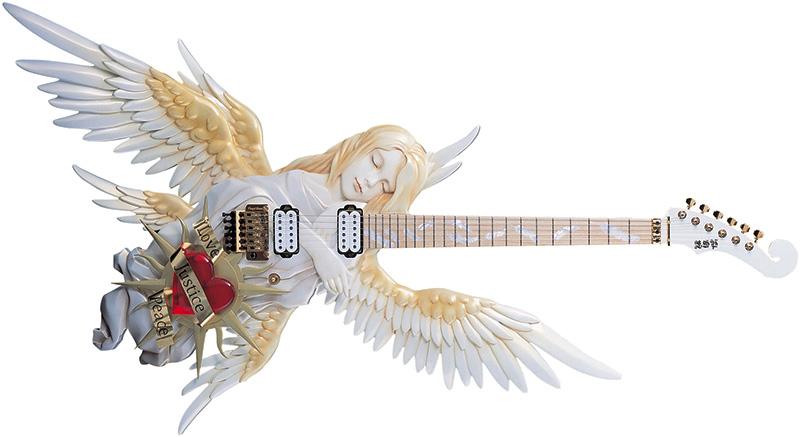 guitar images esp heart - photo #1