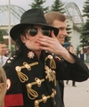 EVEN THE MOST BEAUTIFUL FLOWER ON EARTH COULDN'T COMPARE TO YOUR FACE MICHAEL - michael-jackson photo