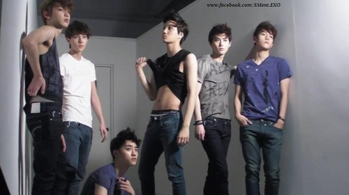 EXO-K 'High Cut' behind the scene footage