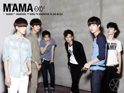 "EXO-K ""MAMA"" Digital Booklet"