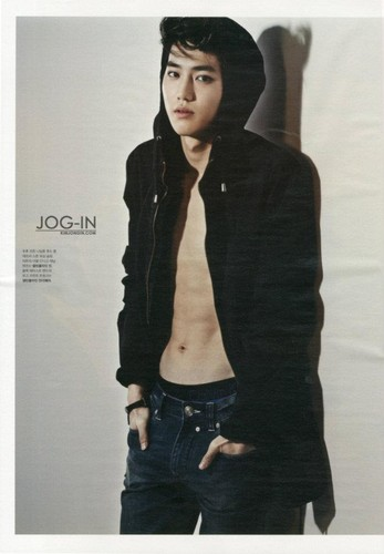 EXO-K modelos for Calvin Klein in 'High Cut' magazine