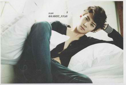 EXO-K models for Calvin Klein in 'High Cut' magazine