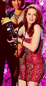 Edward (rob) and Bella (Kristen)