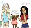Even more Brittana fanart - brittany-and-santana fan art