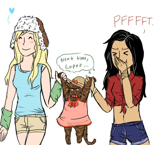 even more brittana fanart brittany and santana fan art