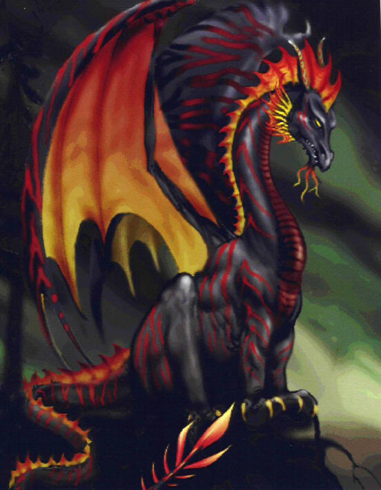 Griffins and Dragons images Evil Dragon wallpaper and ...