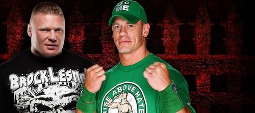 Extreme Rules:Brock Lesnar vs John Cena