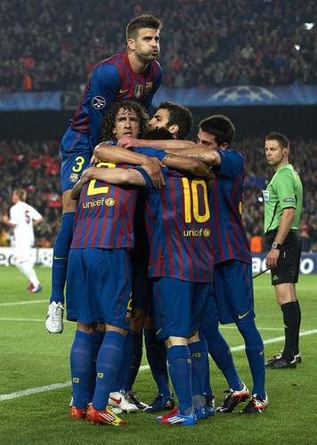 FC Barcelona (3) v AC Milan (1) - UEFA CL