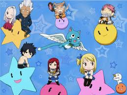 Lamisa wallpaper containing anime entitled Fairy Tail Chibi!