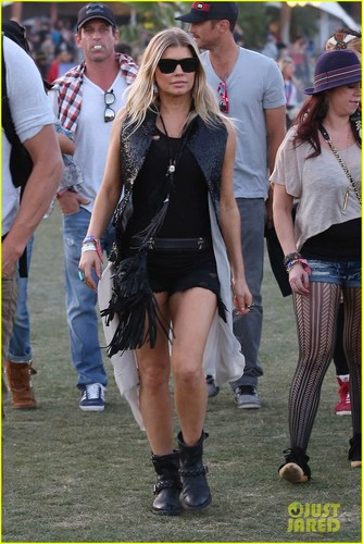 fergie and Josh Duhamel: Coachella dia Three