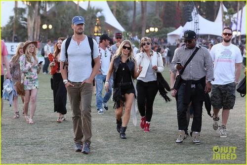 Fergie and Josh Duhamel: Coachella Day Three