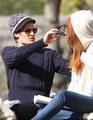 Filming in New York - matt-smith-and-karen-gillan photo