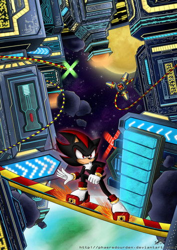 Shadow The Hedgehog wallpaper entitled Final Rush