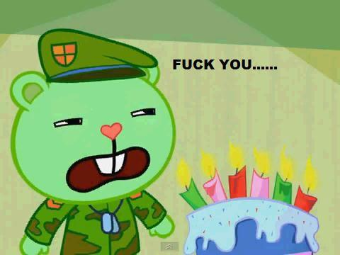 Flippy XD Fuck you - happy-tree-friends Photo
