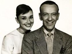 फ्रेड Astaire and Audrey Hepburn