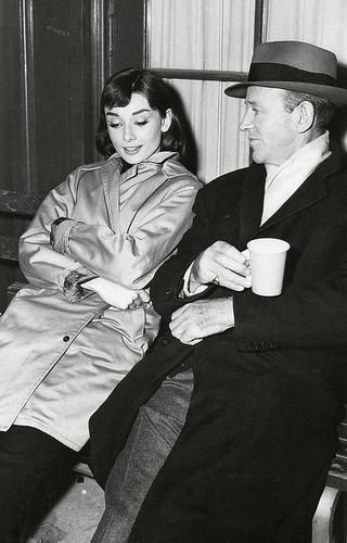 フレッド Astaire and Audrey Hepburn