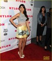 Freida Printo: Flaming Car Dress for Nylon Party! - freida-pinto photo