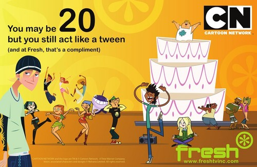 A tutto reality - L'isola wallpaper possibly with Anime entitled Fresh TV Celebrates 20 Years of Cartoon Network