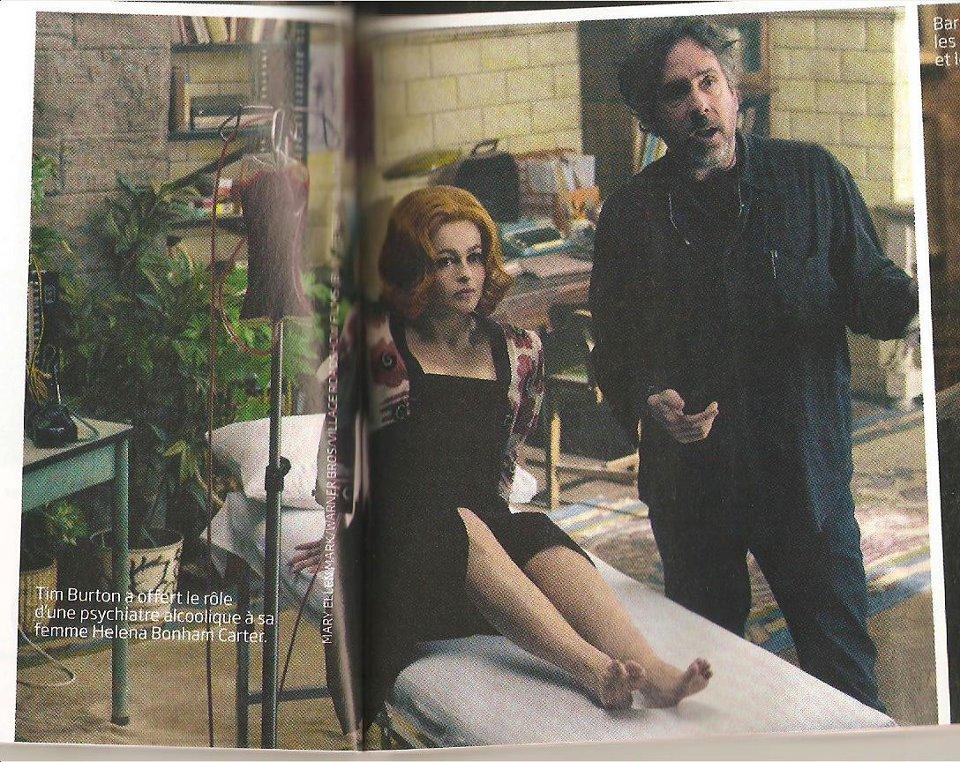 Tim Burton's Dark Shadows From the magazine Studio Cine Live - May ...
