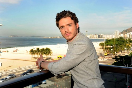 Richard Madden wallpaper probably with a leisure wear, an outerwear, and a box cappotto titled GOT Photocall, Rio de Janeiro - April 12, 2012