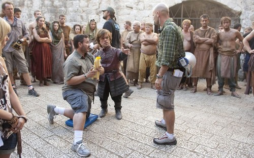 Game of Thrones- Season 2- BTS Photos - game-of-thrones Photo