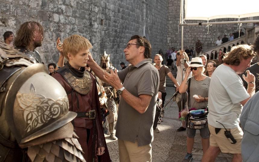 Game of Thrones- Season 2- BTS foto