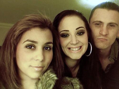 Gareth, Tulisa and Ny