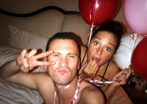 Gareth and Tulisa