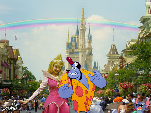 Genie in Walt Disney world