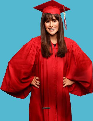 글리 Graduation Poster