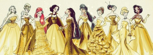 Golden princesses