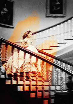 Gone with the Wind wallpaper possibly containing a stairwell and a bannister titled Gone with the Wind