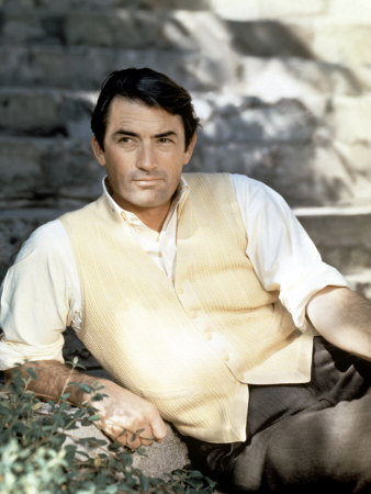 Gregory Peck 壁紙 probably containing a business suit titled Gregory Peck