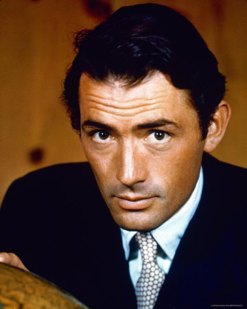 Gregory Peck wallpaper possibly containing a business suit titled Gregory Peck