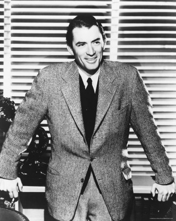 Gregory Peck 바탕화면 containing a business suit, a suit, and a three piece suit entitled Gregory Peck