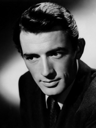 Gregory Peck Hintergrund probably containing a business suit titled Gregory Peck