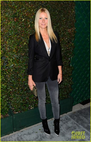 Gwyneth Paltrow 壁紙 containing a business suit and a well dressed person entitled Gwyneth Paltrow: 'My Valentine' Premiere Party!