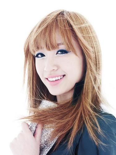 EXID (이엑스아이디) 바탕화면 with a portrait titled Hani (하니 )