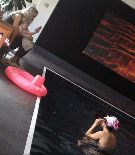 Harry & baby Lux ♥