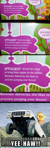 táo, apple Jack is best truck driver
