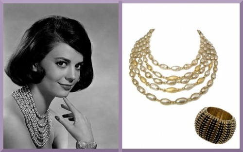 Her jewellery and bracelet