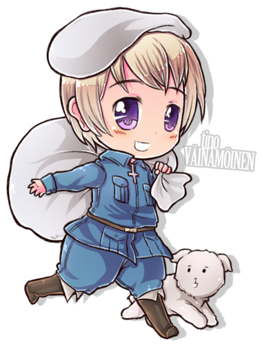 Hetalia wallpaper containing anime entitled Hetalia Chibi