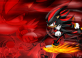 High Speed Pursuit - shadow-the-hedgehog photo