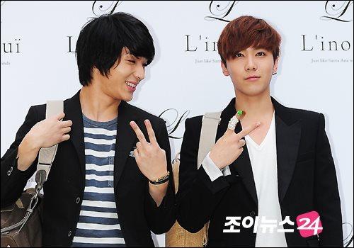 Hong ki & Jong Hun L'inoui Event