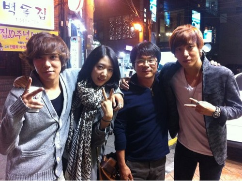 FT ISLAND (에프티 아일랜드) wallpaper with a street called Hongki, Park Shin Hye, YongHwa,