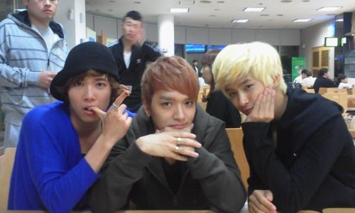 Hongki, Simon D, Jae Jin
