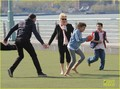 Hugh Jackman: Football With The Family - hugh-jackman photo