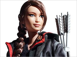 Barbie wallpaper probably containing a portrait called Hunger Games- Katniss Everdeen Barbie doll